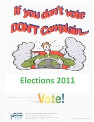 If you dont Vote dont Complain